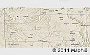 Shaded Relief 3D Map of Montrose County