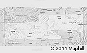 Silver Style 3D Map of Montrose County