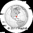 Outline Map of ZIP Code 32221