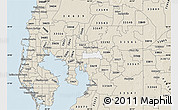 33610 Zip Code Map.Free Silver Style Map Of Zip Code 33610