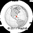 Outline Map of ZIP Code 33914
