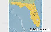Savanna Style Map of Florida