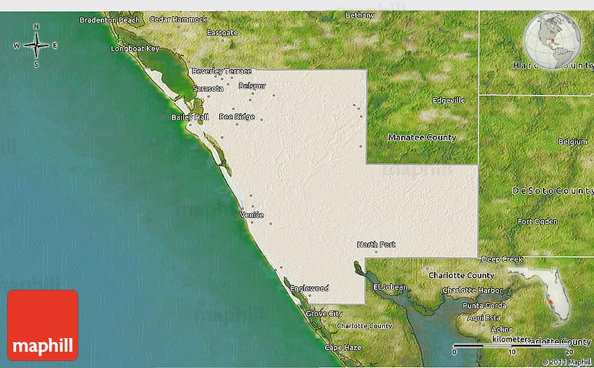 Shaded Relief 3D Map of Sarasota County, satellite outside on lakeland florida map, little salt spring florida map, sarasota fl, hidden river florida map, bradenton florida map, charlotte county florida map, saint johns county florida map, white beach florida map, desoto county florida map, vamo florida map, alameda county florida map, myakka river florida map, sarasota south west florida map, lee county florida map, st. marks florida map, wimauma florida map, manatee county florida map, albany county florida map, sarasota road map, siesta key florida map,