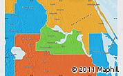 Political Map of Seminole County