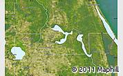 Satellite Map of Seminole County