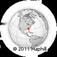 Outline Map of Georgia
