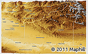 Physical Panoramic Map of Elmore County