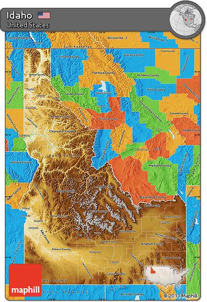 Free Physical Map of Idaho, political outside on political map of idaho, cities and towns in idaho, landforms in idaho, general map of idaho, land features of idaho, topological map of idaho, physical features of idaho, world map of idaho, national flower of idaho, topography of idaho, geography of idaho, physical map southeast united states, map showing counties of idaho, detailed map of idaho, product map of idaho, agricultural map of idaho, rivers of idaho, large map of idaho, street map of kamiah idaho, topographical map of idaho,