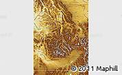 Physical Map Of Idaho - Physical map of idaho