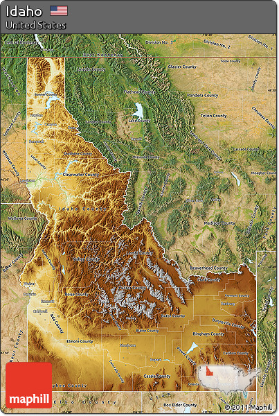 Free Physical Map of Idaho, satellite outside on political map of idaho, cities and towns in idaho, landforms in idaho, general map of idaho, land features of idaho, topological map of idaho, physical features of idaho, world map of idaho, national flower of idaho, topography of idaho, geography of idaho, physical map southeast united states, map showing counties of idaho, detailed map of idaho, product map of idaho, agricultural map of idaho, rivers of idaho, large map of idaho, street map of kamiah idaho, topographical map of idaho,
