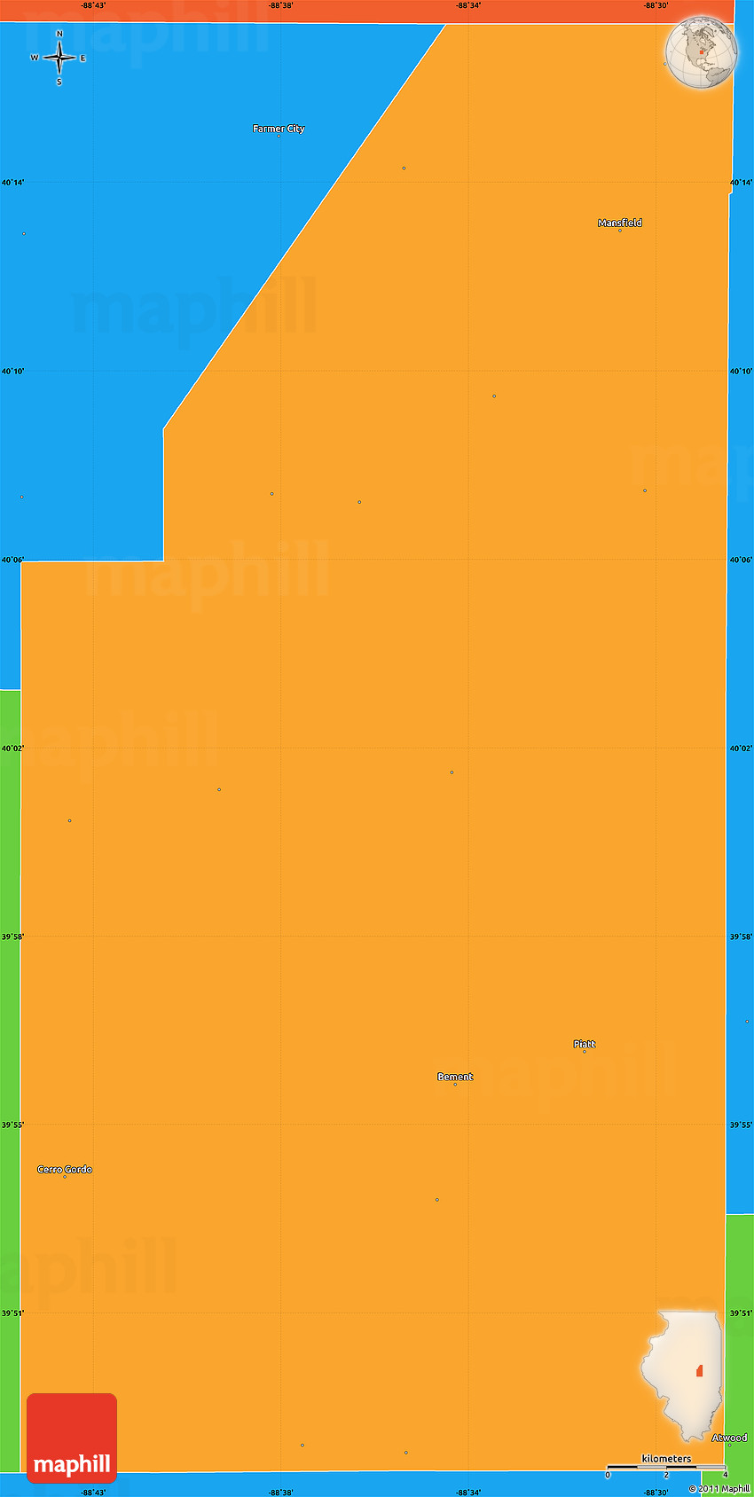 Illinois piatt county cisco - 2d