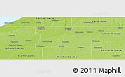 Physical Panoramic Map of Saint Joseph County