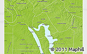 Physical Map of Lyon County