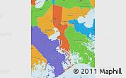 Political Map of Jefferson Parish