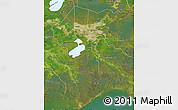 Satellite Map of Jefferson Parish