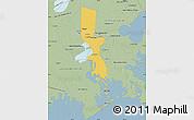 Savanna Style Map of Jefferson Parish