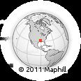 Outline Map of Madison Parish