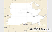 Classic Style Simple Map of Madison Parish