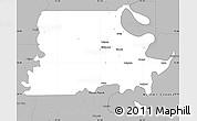 Gray Simple Map of Madison Parish