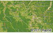 Satellite 3D Map of West Baton Rouge Parish