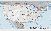 Gray Map of United States