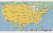 Savanna Style Map of United States