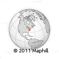 Outline Map of ZIP Code 20601
