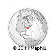 Outline Map of ZIP Codes Starting with 015