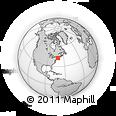 Outline Map of ZIP Code 02125