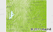 Physical 3D Map of Worcester County