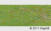 Satellite Panoramic Map of ZIP codes starting with 553