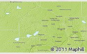 Physical 3D Map of Hennepin County