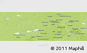 Physical Panoramic Map of Hennepin County