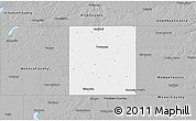 Gray 3D Map of Steele County