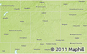 Physical 3D Map of Steele County