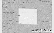 Gray Map of Clinton County