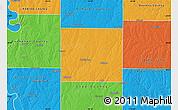 Political Map of Clinton County