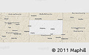 Classic Style Panoramic Map of Clinton County