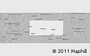 Gray Panoramic Map of Clinton County