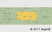 Savanna Style Panoramic Map of Clinton County