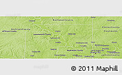 Physical Panoramic Map of Platte County