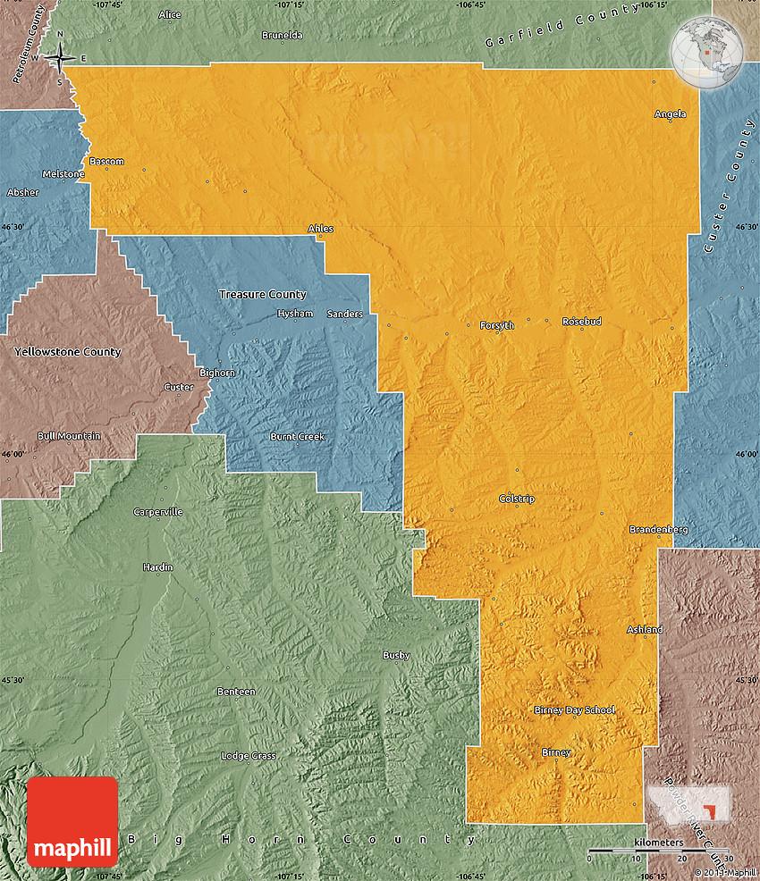Montana rosebud county angela - 2d