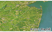 Satellite 3D Map of Monmouth County