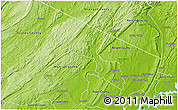 Physical 3D Map of Passaic County