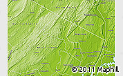 Physical Map of Passaic County