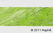 Physical Panoramic Map of Passaic County
