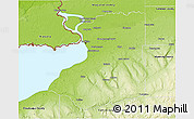 Physical 3D Map of Erie County