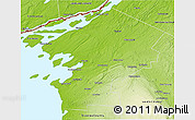 Physical 3D Map of Jefferson County