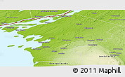 Physical Panoramic Map of Jefferson County