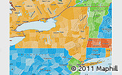 Political Shades Map of New York